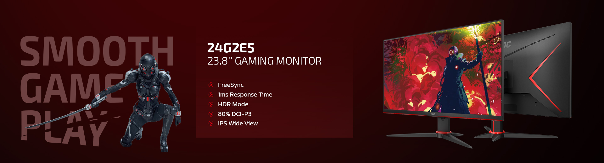 Pre-order Now for the AOC Gaming G2 Series Monitors