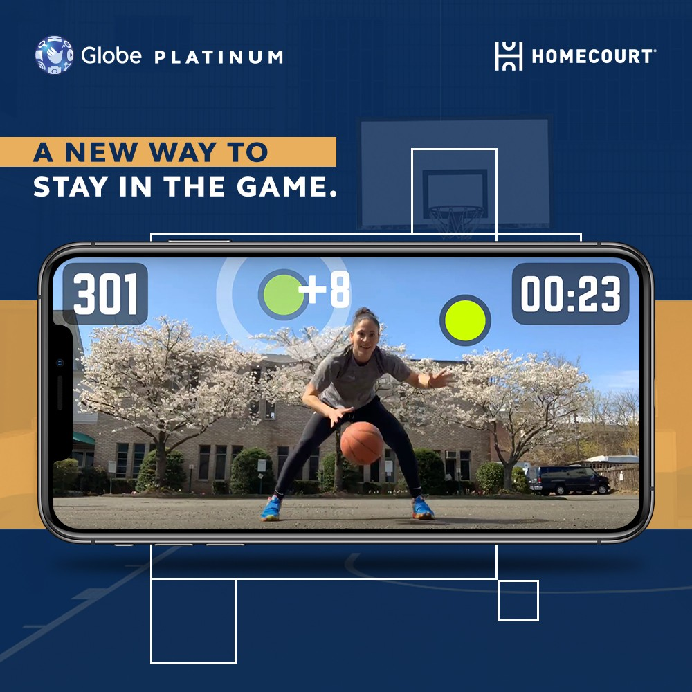 Globe brings basketball madness to Filipino fans through exclusive partnership with HomeCourt