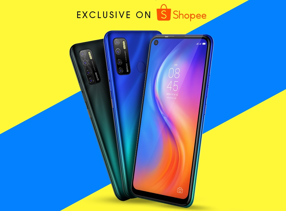 The most affordable entry-level smartphone Tecno Spark 5 Pro is now available at 33% off exclusively on Shopee until 22 Aug!
