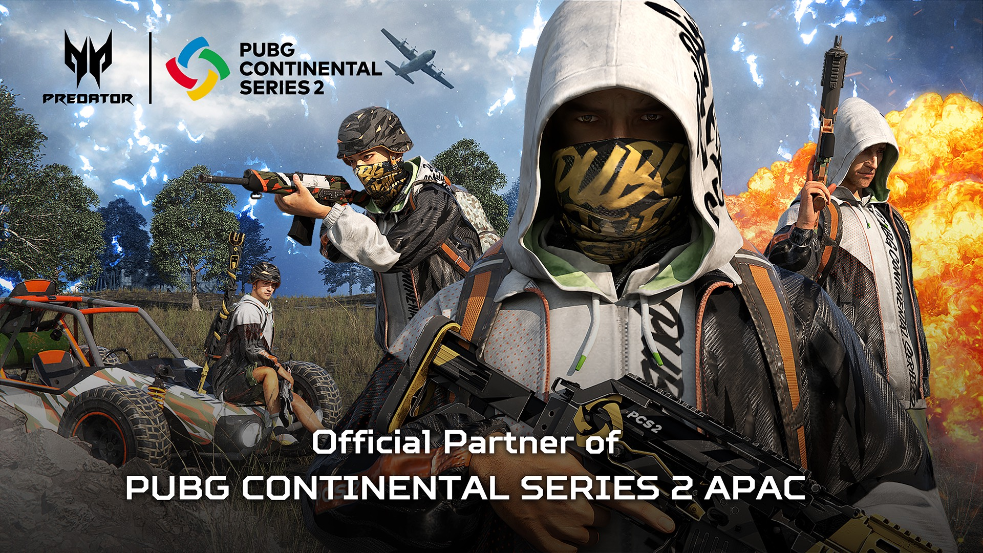 • Acer Partners with PUBG for Continental Series 2 APAC