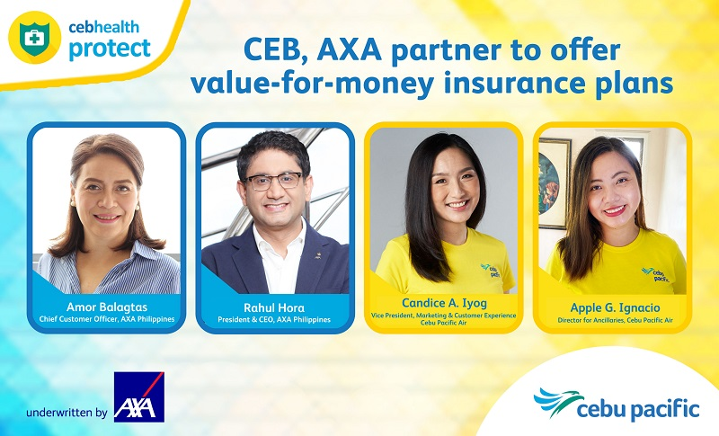 Cebu Pacific, AXA Philippines partner to offer value-for-money insurance plans for everyJuan