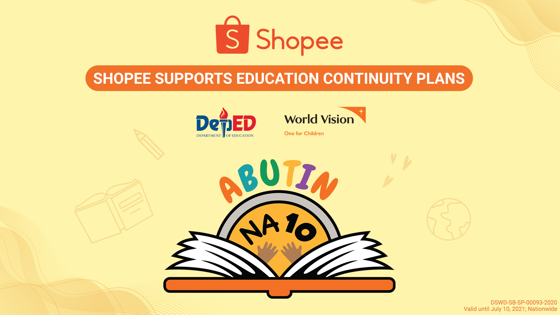 Shopee partners with World Vision and the Department of Education to help Filipino students continue Distance Learning