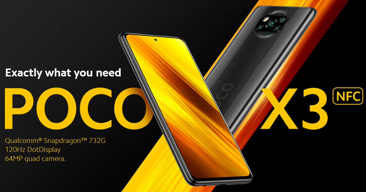 Available now! Xiaomi POCO X3 NFC debut exclusive launch on Shopee 9.9 Super Shopping Day!