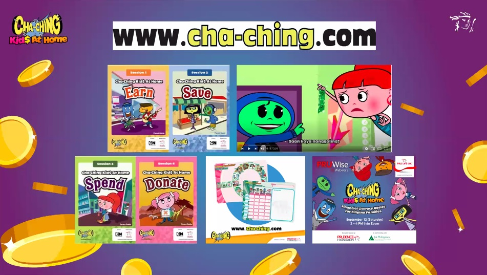 Pru Life UK advances financial literacy for Filipino families with Cha-Ching Kid$ at Home webinar