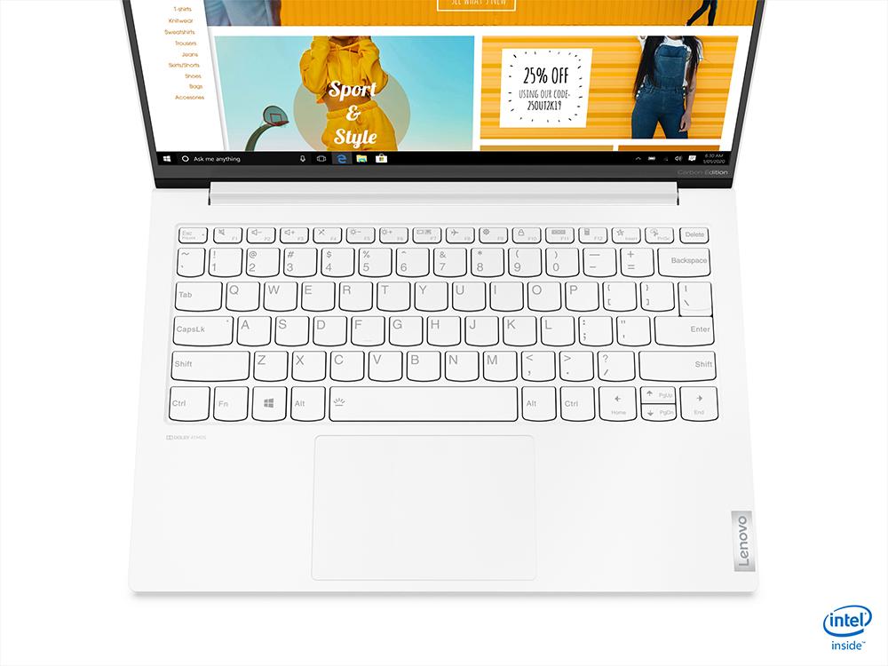 Lenovo unveils featherweight Yoga Slim 7i Carbon Laptop