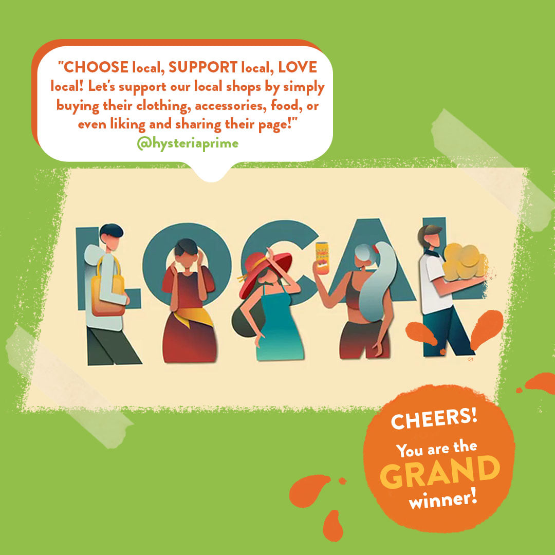 Filipinos express creativity and support for local through Locally's #LivinLovinLocal