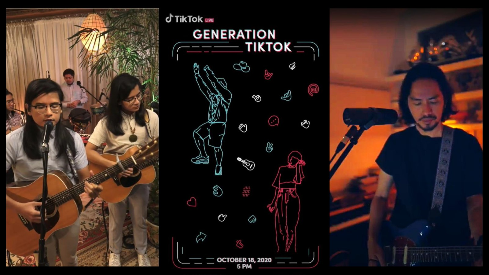 TikTok sends love to the Filipino community in free online concert celebrating content diversity and creative expression
