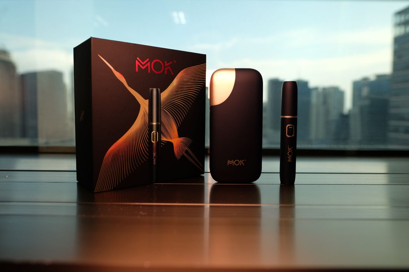 Enjoy the new Heat-Not-Burn tobacco experience with MOK