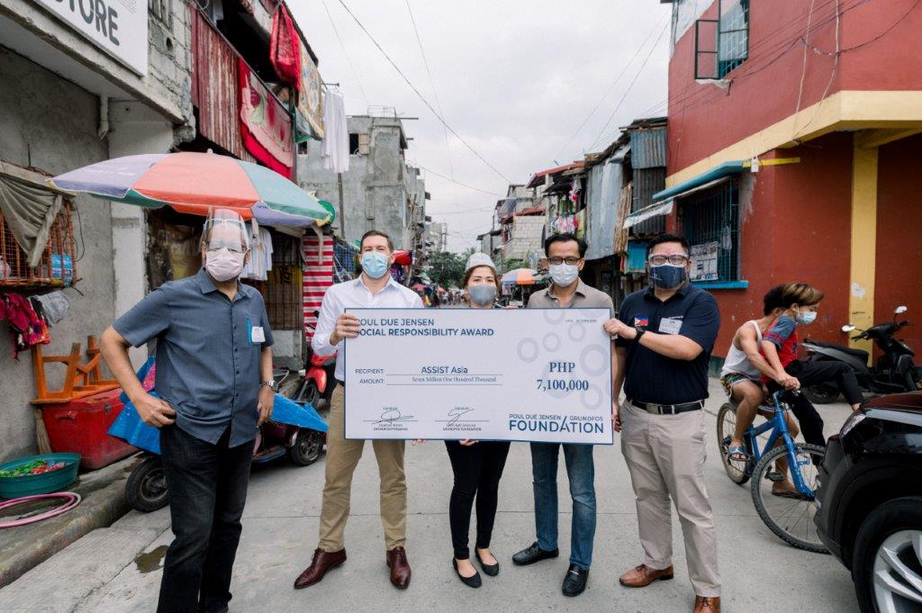 Grundfos Foundation's grant helps bring clean water to the community in Baseco