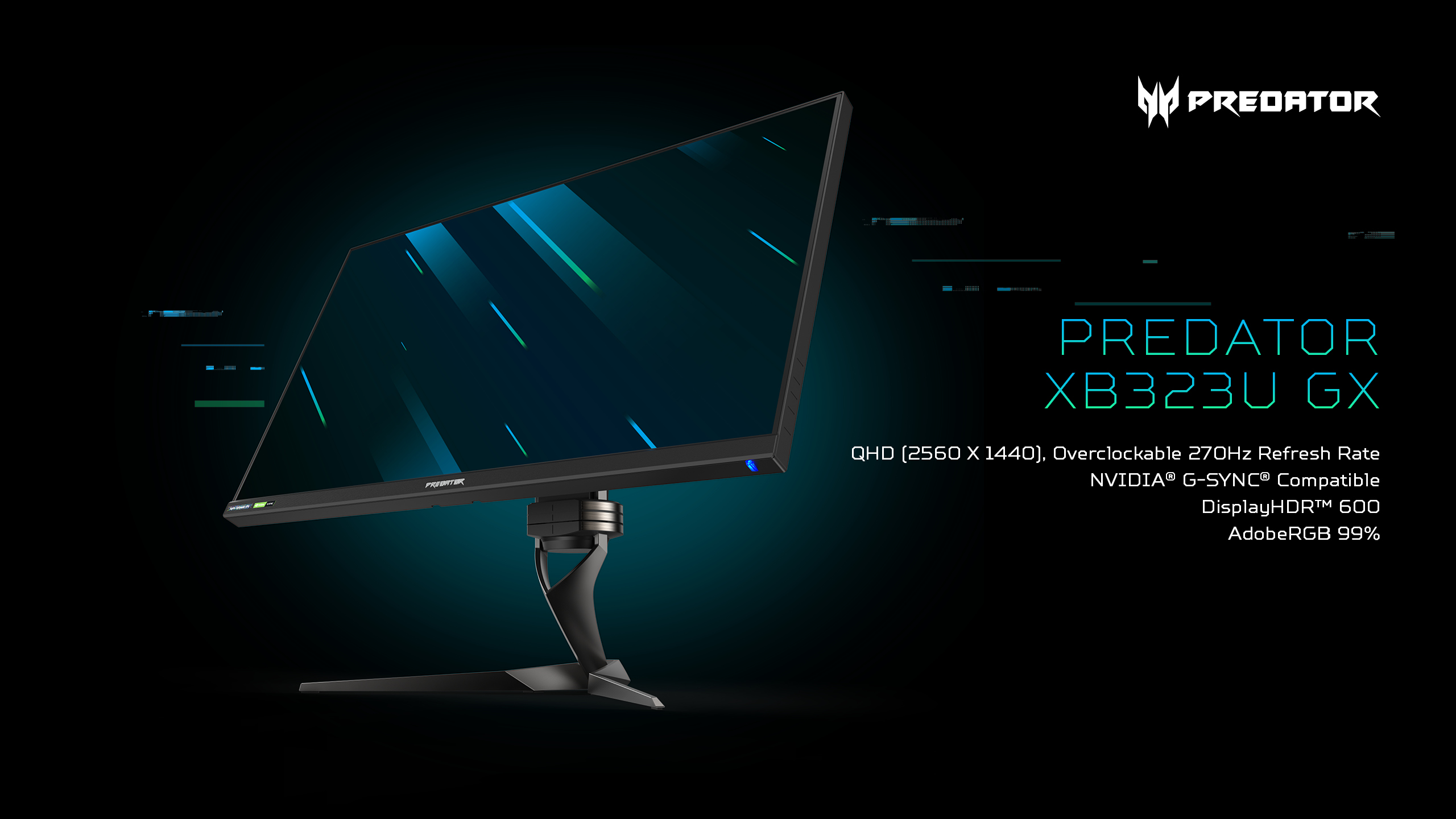 Acer expands its award-winning gaming monitor portfolio with 6 new Predator and Nitro models
