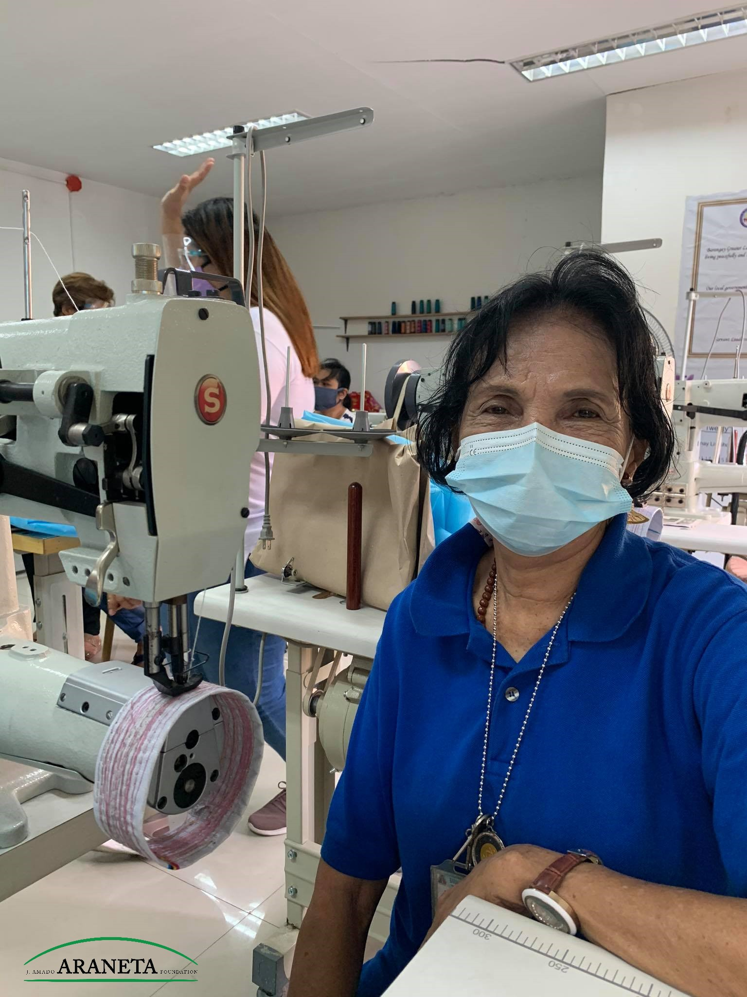 JAAF supports livelihood training for QC women entrepreneurs