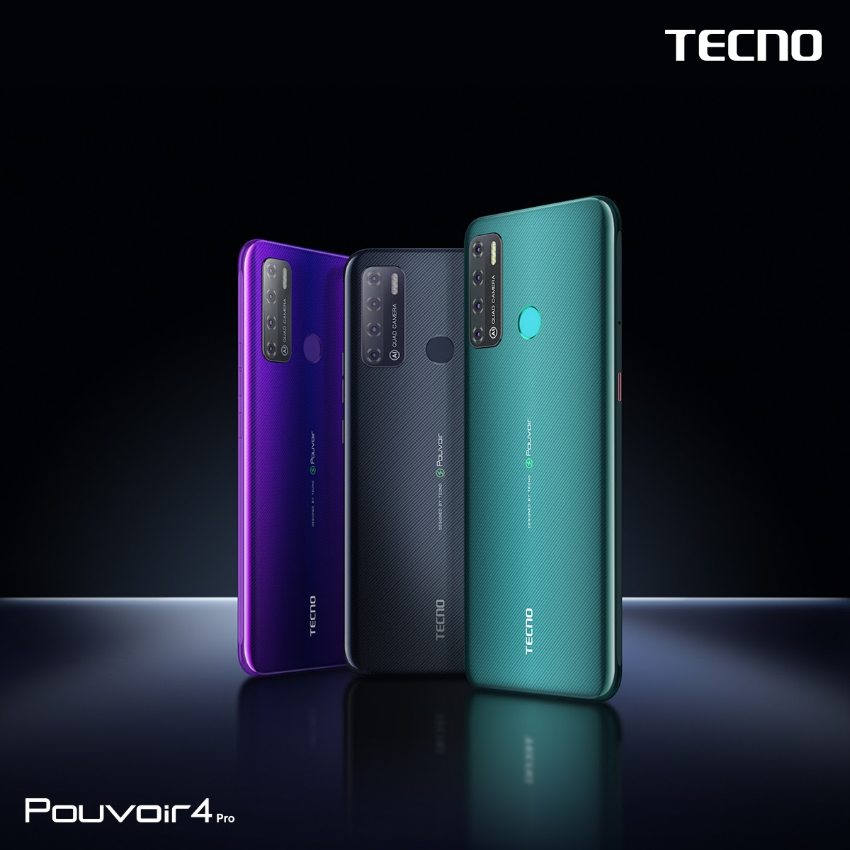 TECNO Mobile launched the Pouvoir 4: The smartphone that can last for four days*