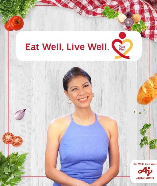 """Ajinomoto and GMA-7 launch """"Eat Well, Live Well. Stay Well"""" web series"""