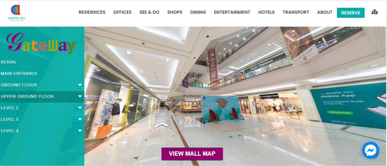 Araneta City launches Gateway Mall Virtual Experience