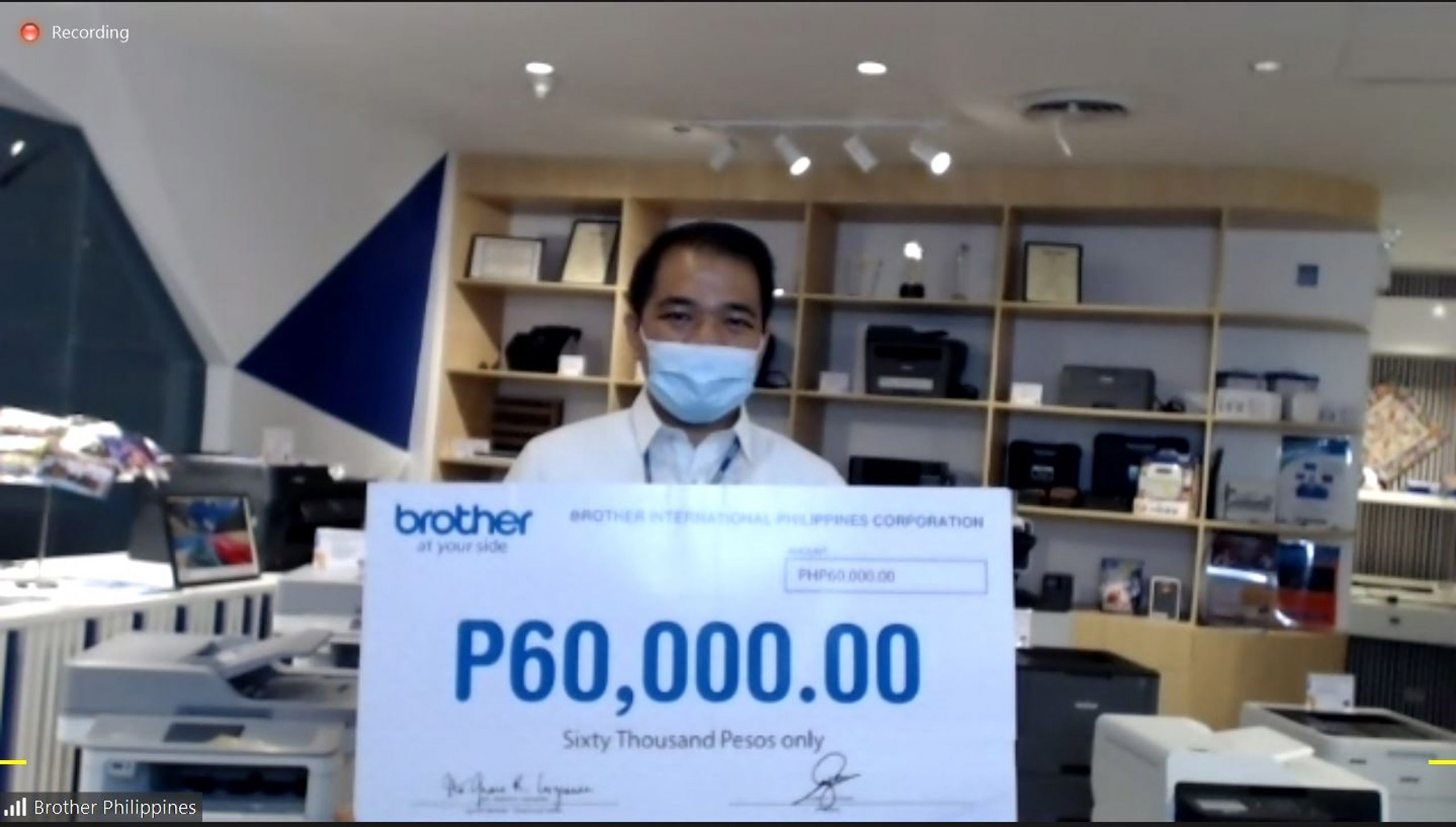 Brother Philippines supports virtual Relay For Life 2020