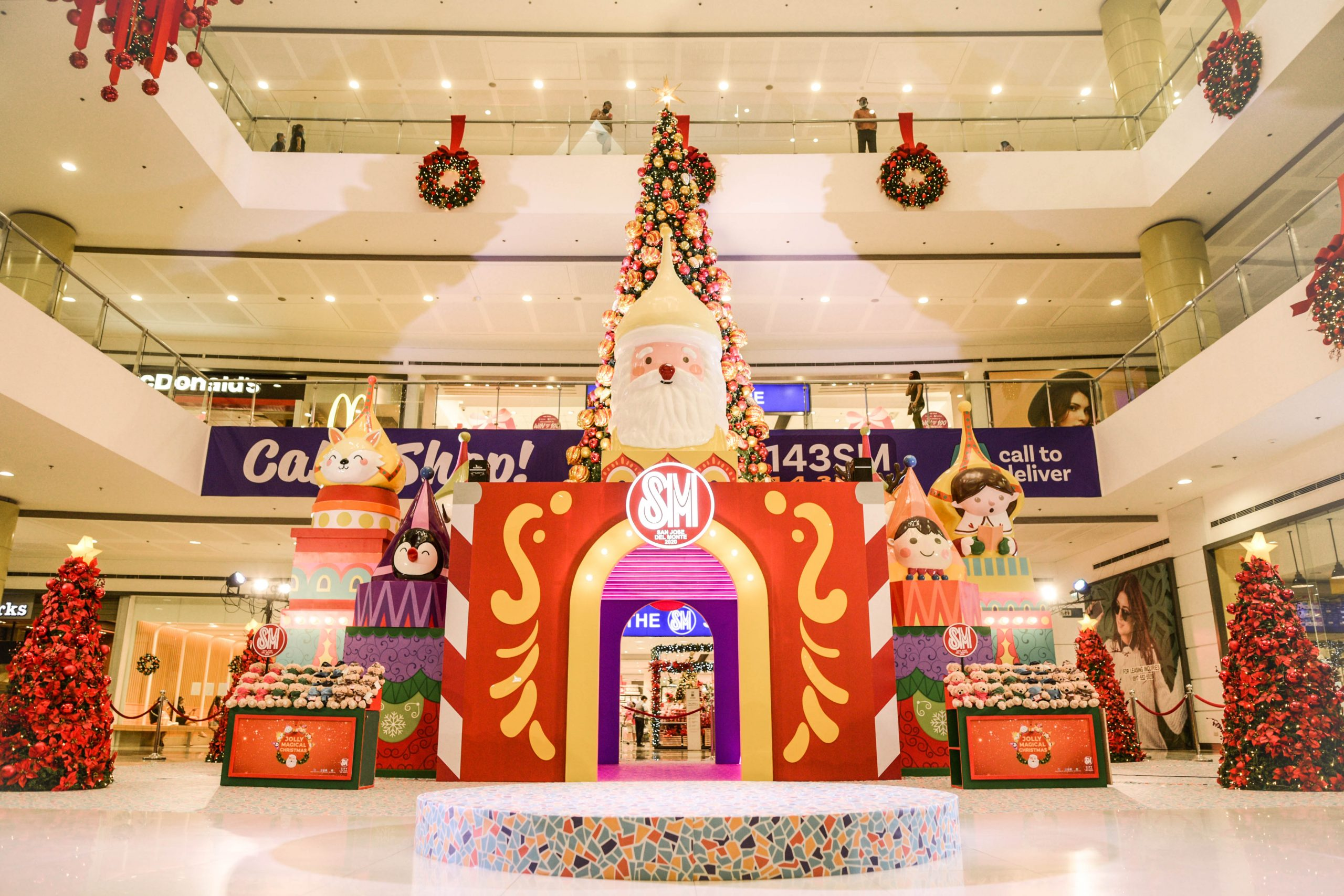 SM City San Jose del Monte kicks off Christmas with Hope