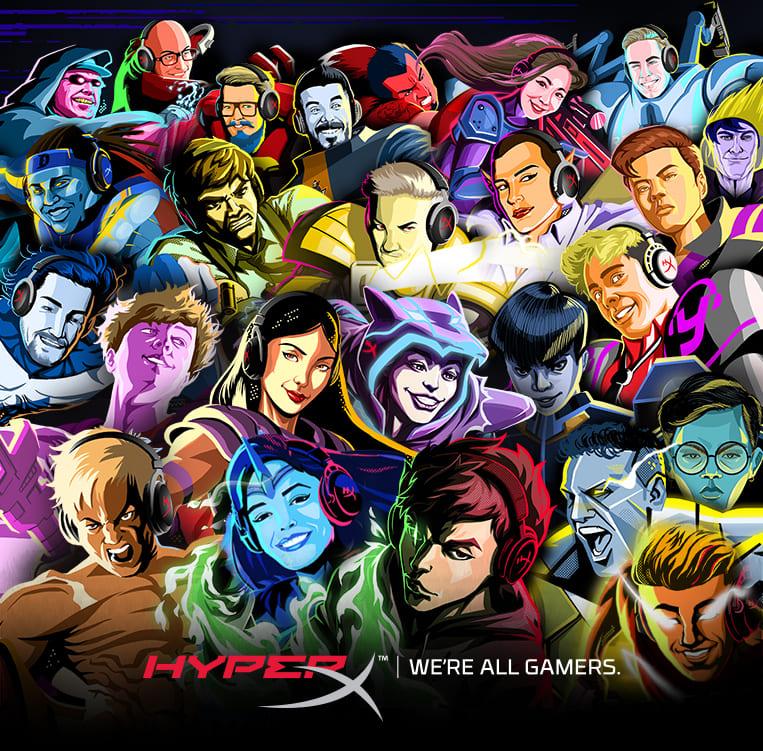 HyperX adds 25 Global Influencers to Brand Ambassador Program