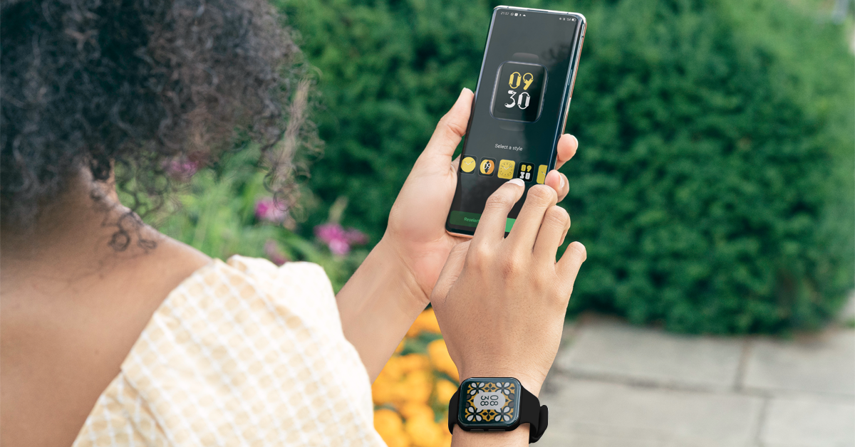 Let your OPPO Watch W6 complete your OOTD
