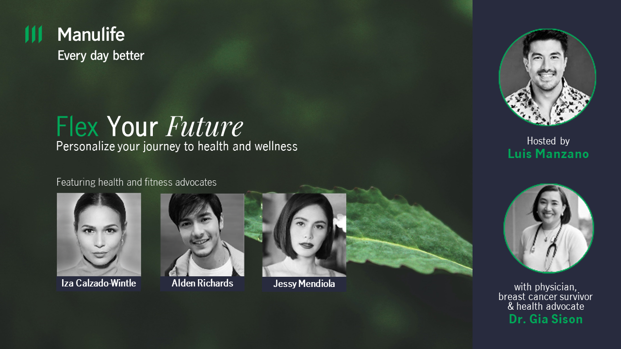 Manulife's webinar gives insights on how Filipinos can personalize their health and wellness journey