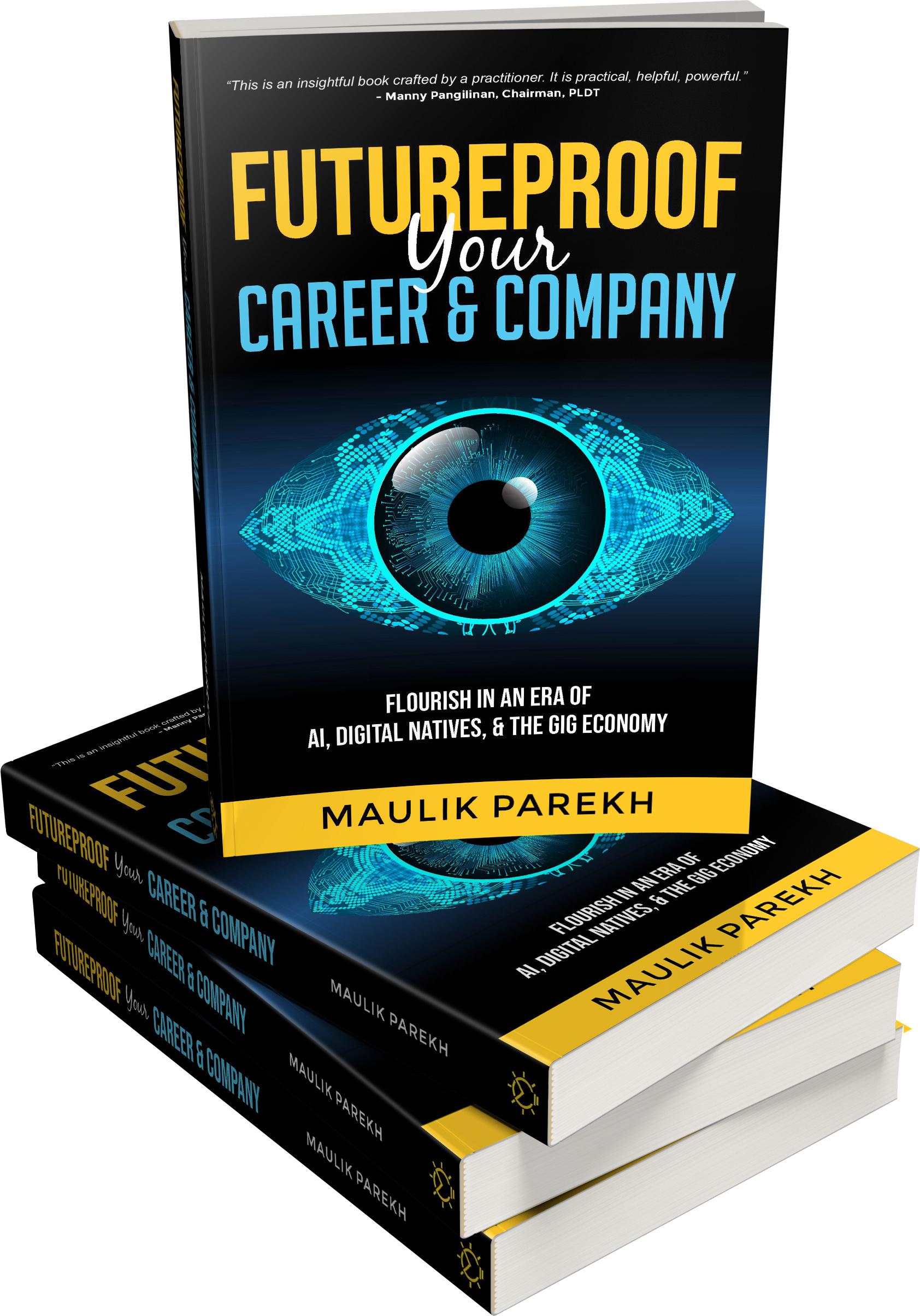 "Award-winning CEO Maulik Parekh makes writing debut, ""Future Proof Your Company and Career"""