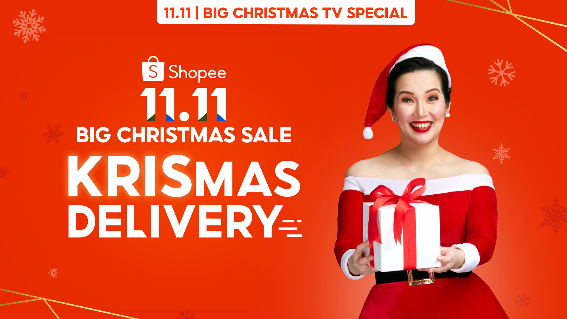 Shopee Brand Ambassador Kris Aquino delivered joys and surprise gifts to three families this Christmas Special Shopee Deliveries