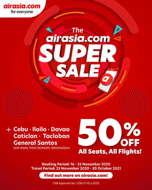 airasia.com Super Sale is back with exciting deals