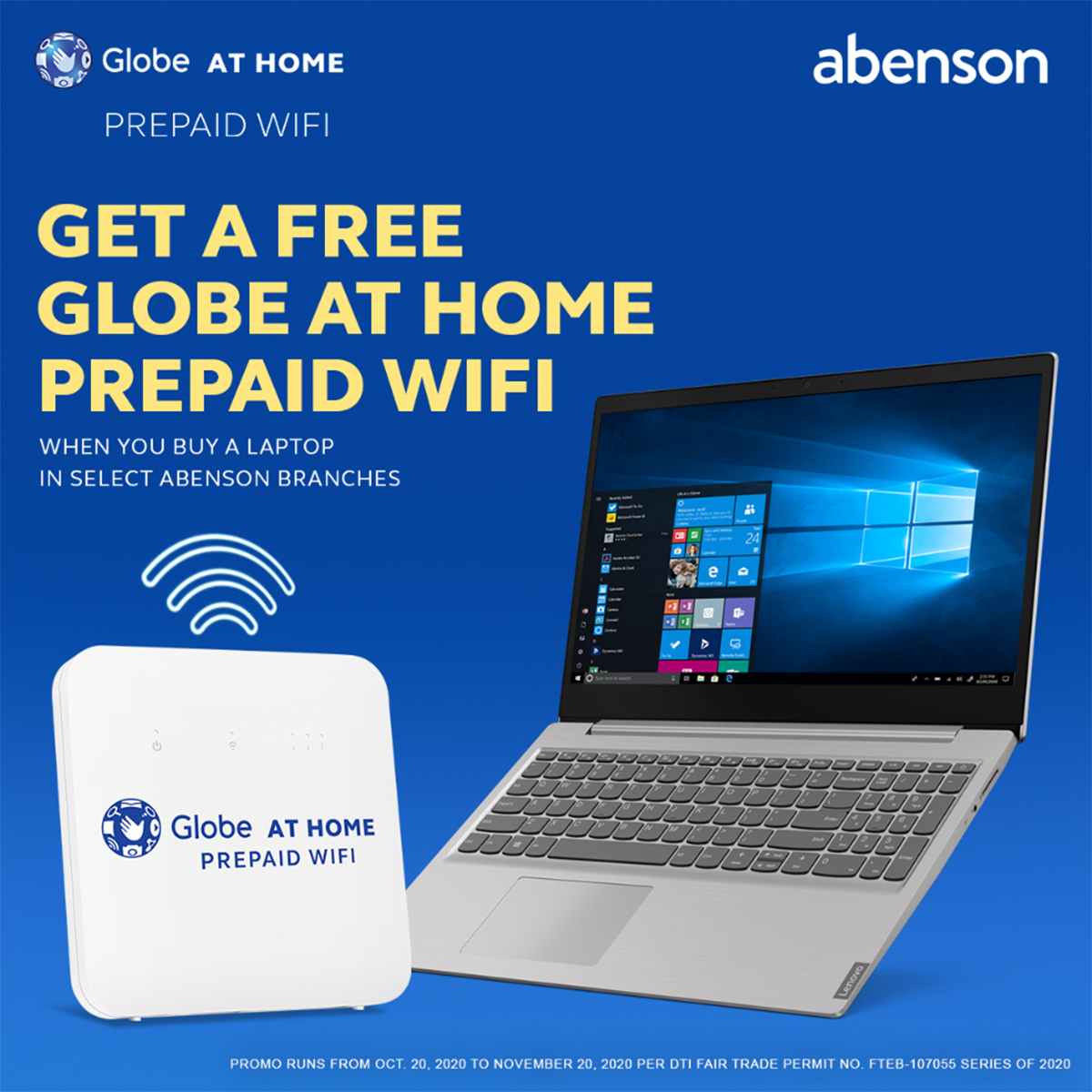Globe At Home partners with gadget and appliance retail chain to offer device bundles for Work-From-Home and E-Learning
