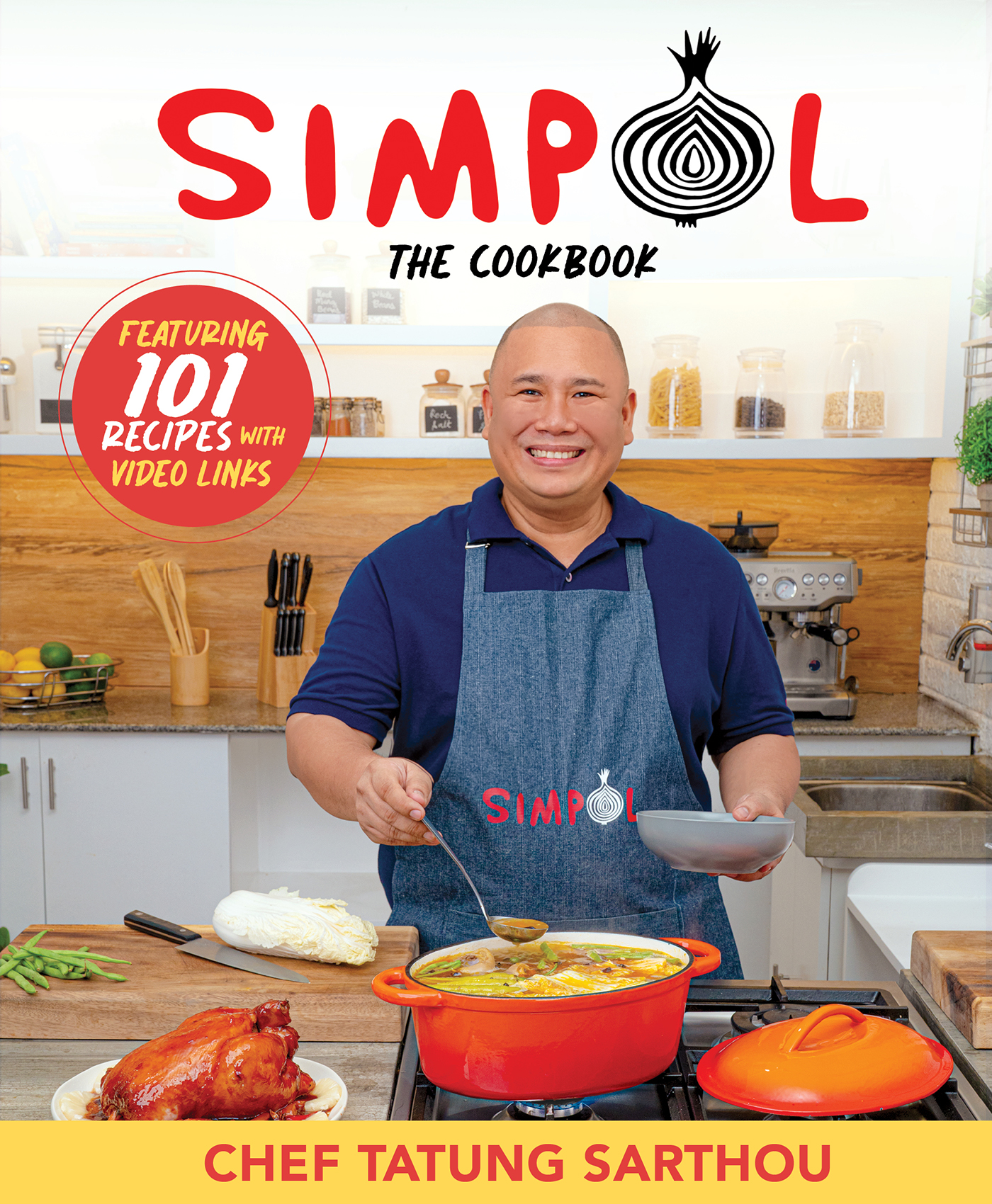 Chef Tatung Sarthou unveils Simpol the Cookbook with 101 recipes collaboration with NutriAsia