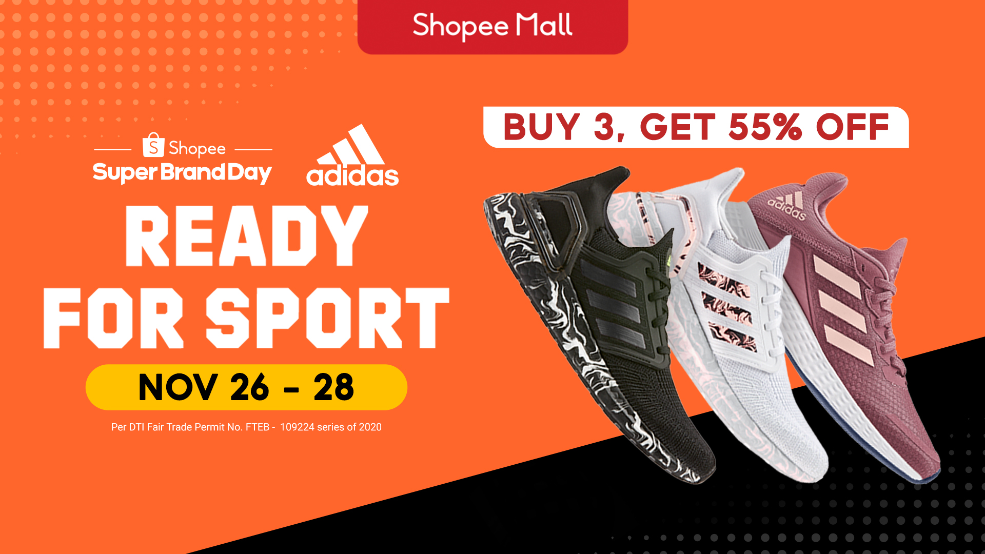 adidas debuts its Regional Shopee Super Brand Day in the Philippines