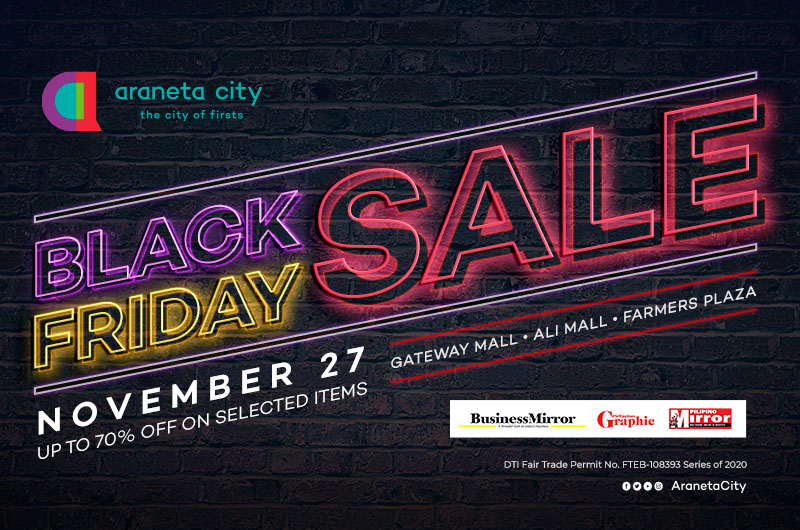 Araneta City's having an exciting shopping treats this long weekend