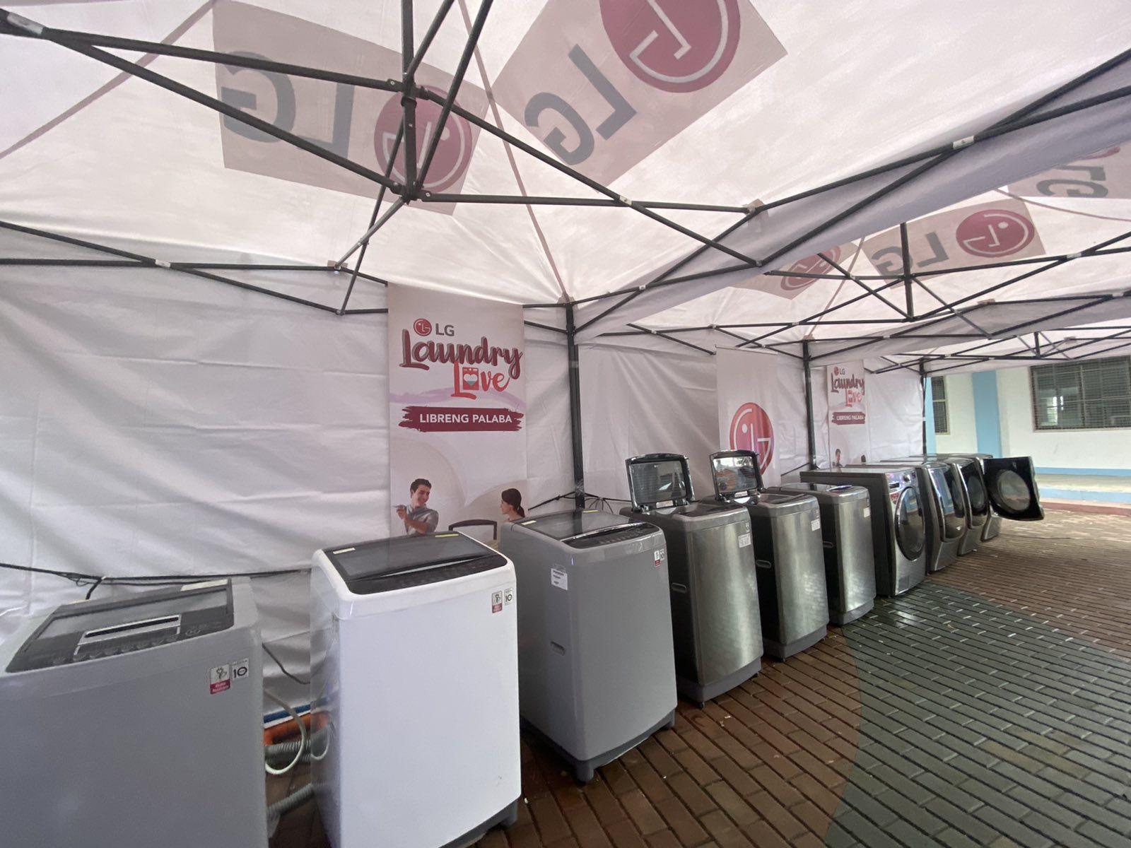LG shares Laundry Love to Marikina