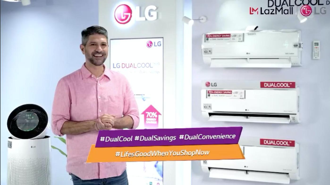 Pure air is possible with LG's Air Purifying Air Conditioners