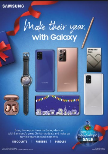 Give the gift of Galaxy this Christmas