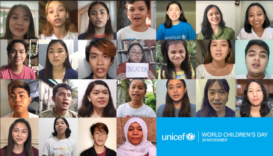 World Children's Day on November 20 Listen to children's experiences of COVID-19 - UNICEF
