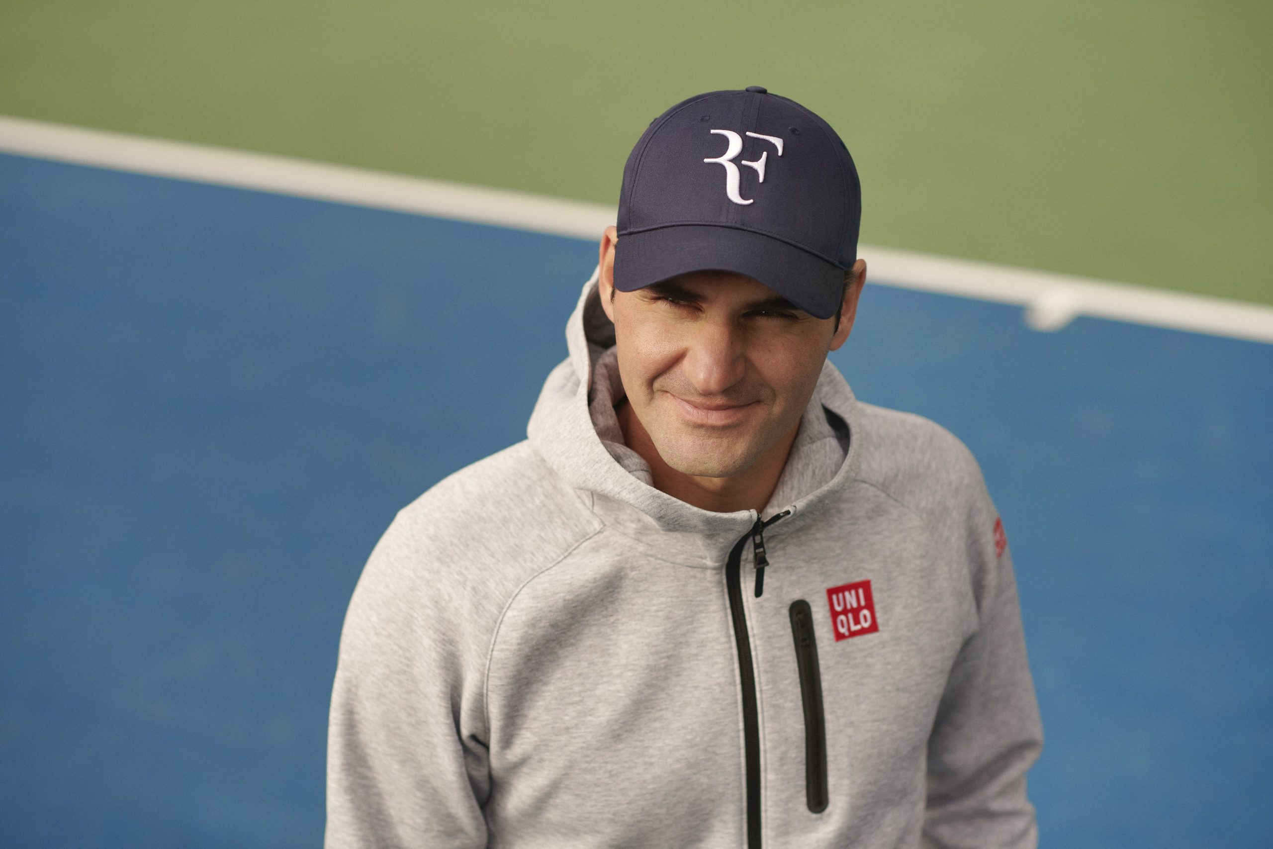 """UNIQLO launches long-awaited Roger Federer """"RF"""" Cap"""