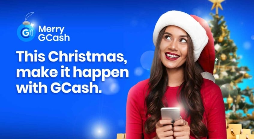 GCash is giving a way a total of P30 Million worth of prizes this Christmas