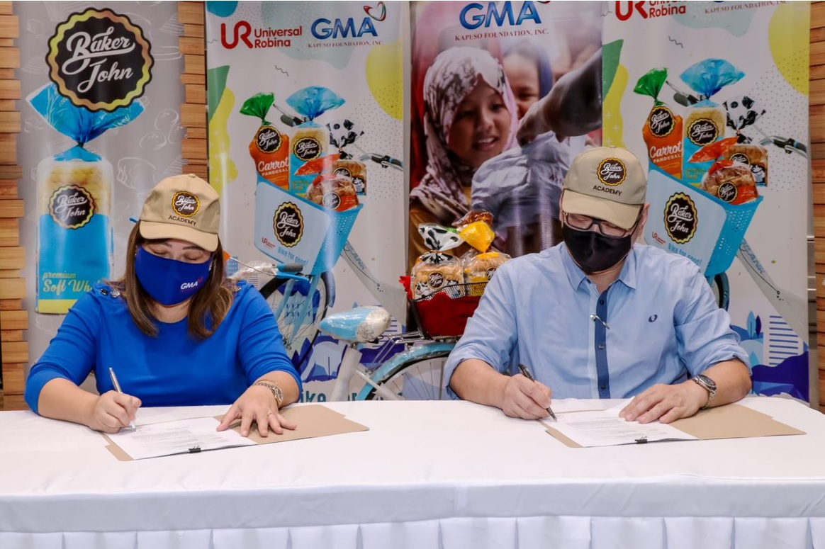 Bike for Good: Baker John partners with GMA Kapuso Foundation for Livelihood Project