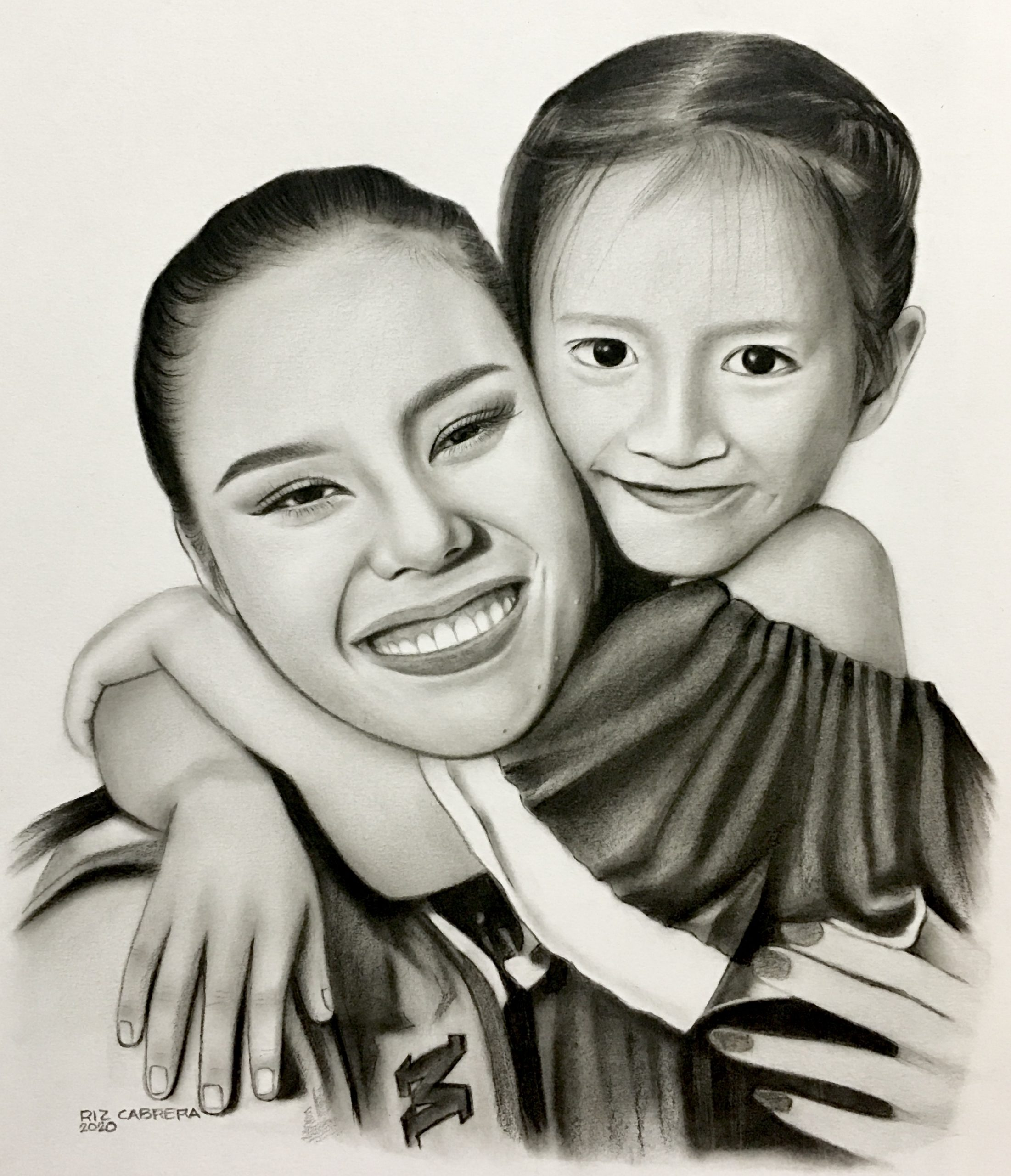 Baguio-based Artist, Riz Cabrera, launches online art auction for Smile Train Philippines