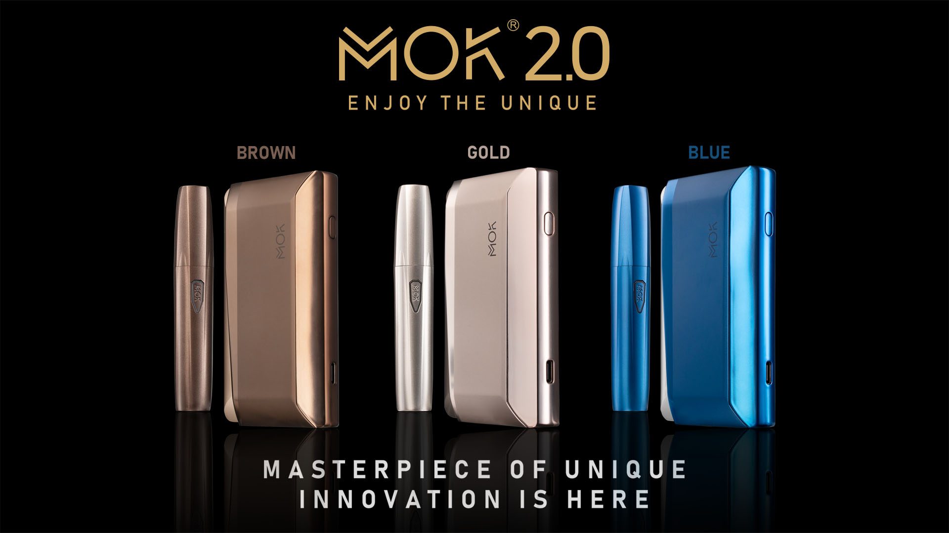 MOK Philippines unveiled the latest device in their heat-not-burn product line, the MOK 2.0