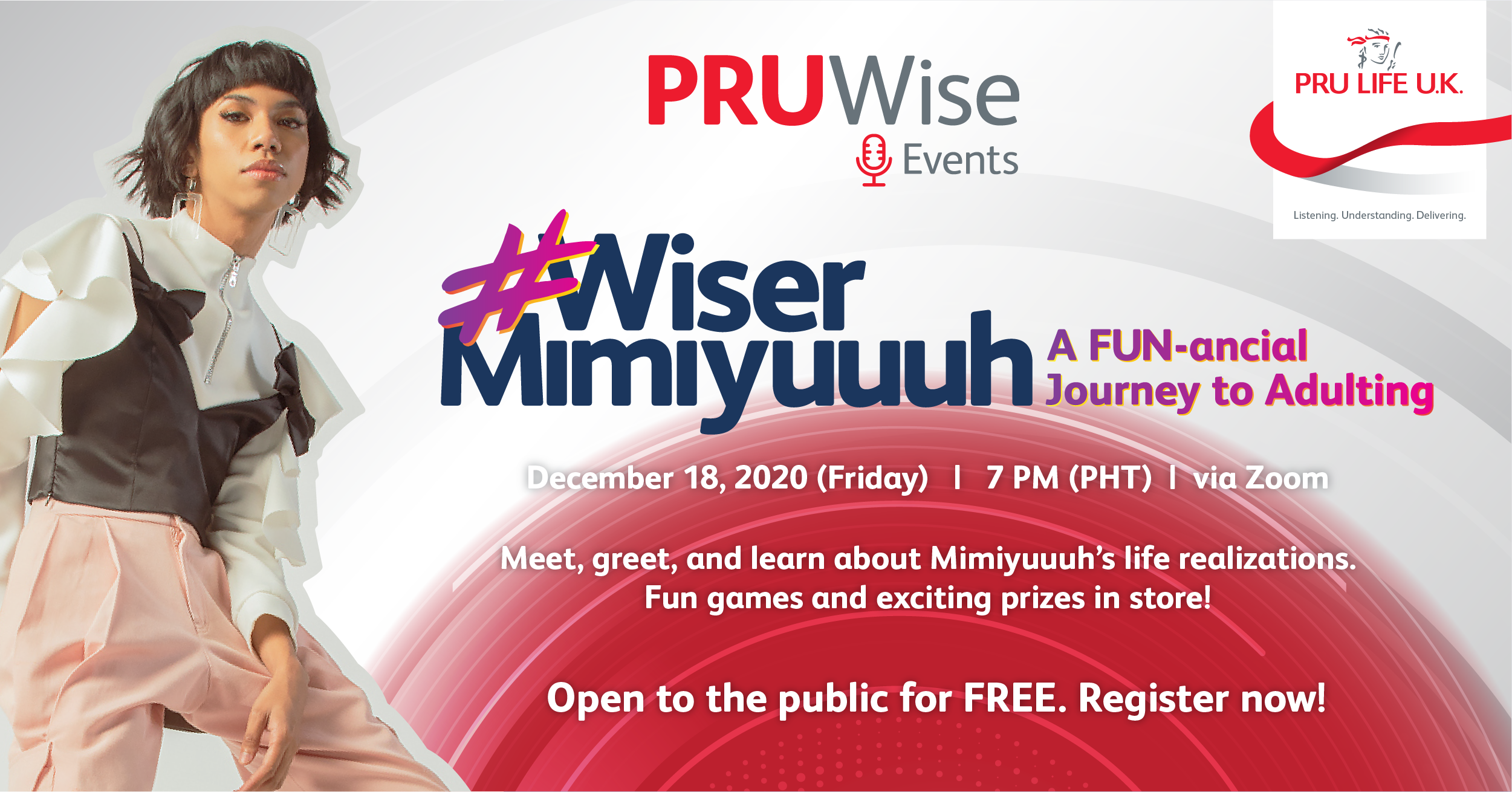 Learn and laugh with social media sensation Mimiyuuuh as Pru Life UK premieres PRUWise Events