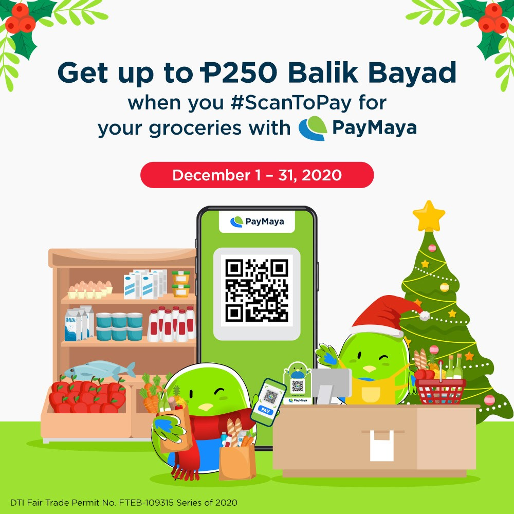 Enjoy the most sulit deals on your groceries with PayMaya