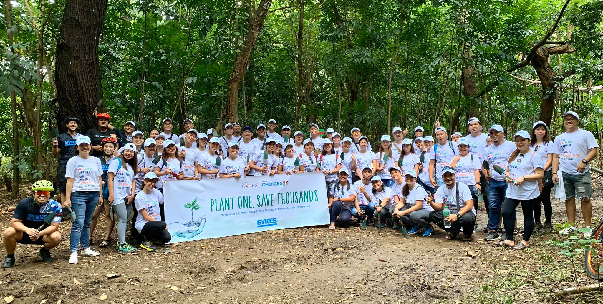 SYKES' global workforce promotes environmental sustainability