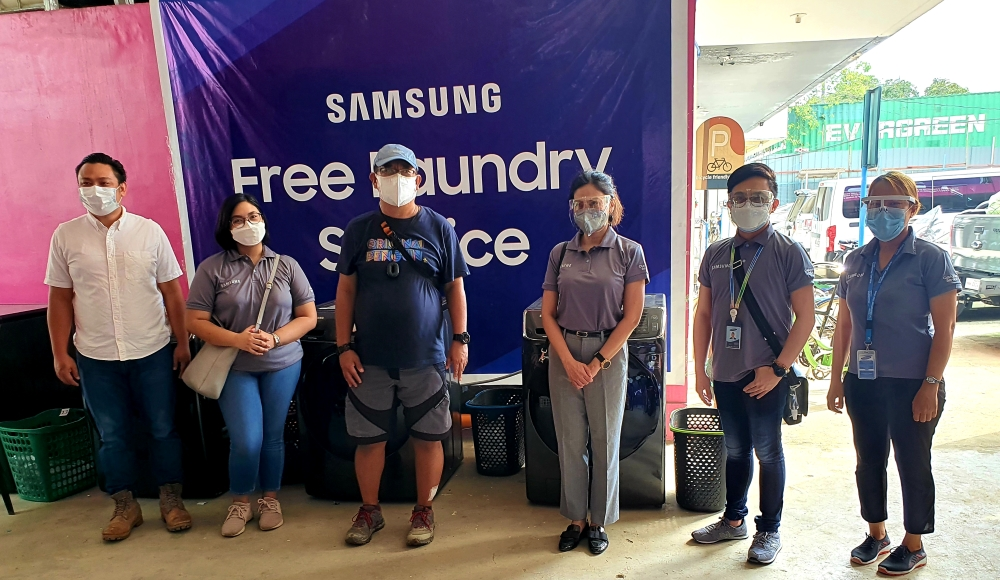 SAMSUNG provides aid to families affected by Typhoon Ulysses