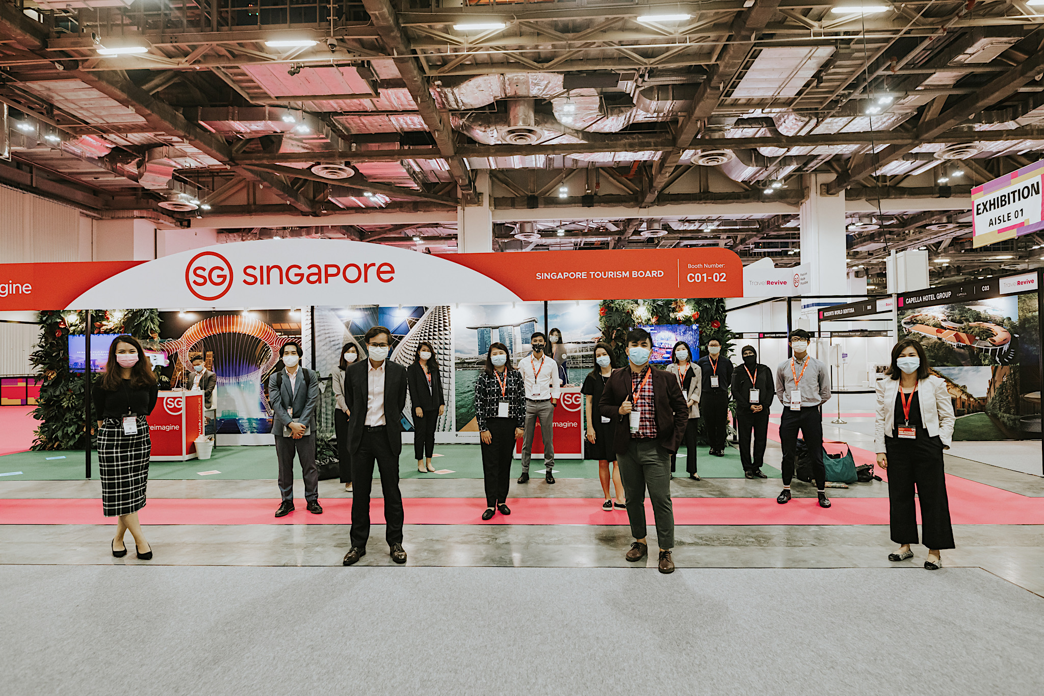 Asia Pacific's first physical international travel tradeshow TravelRevive opens in Singapore