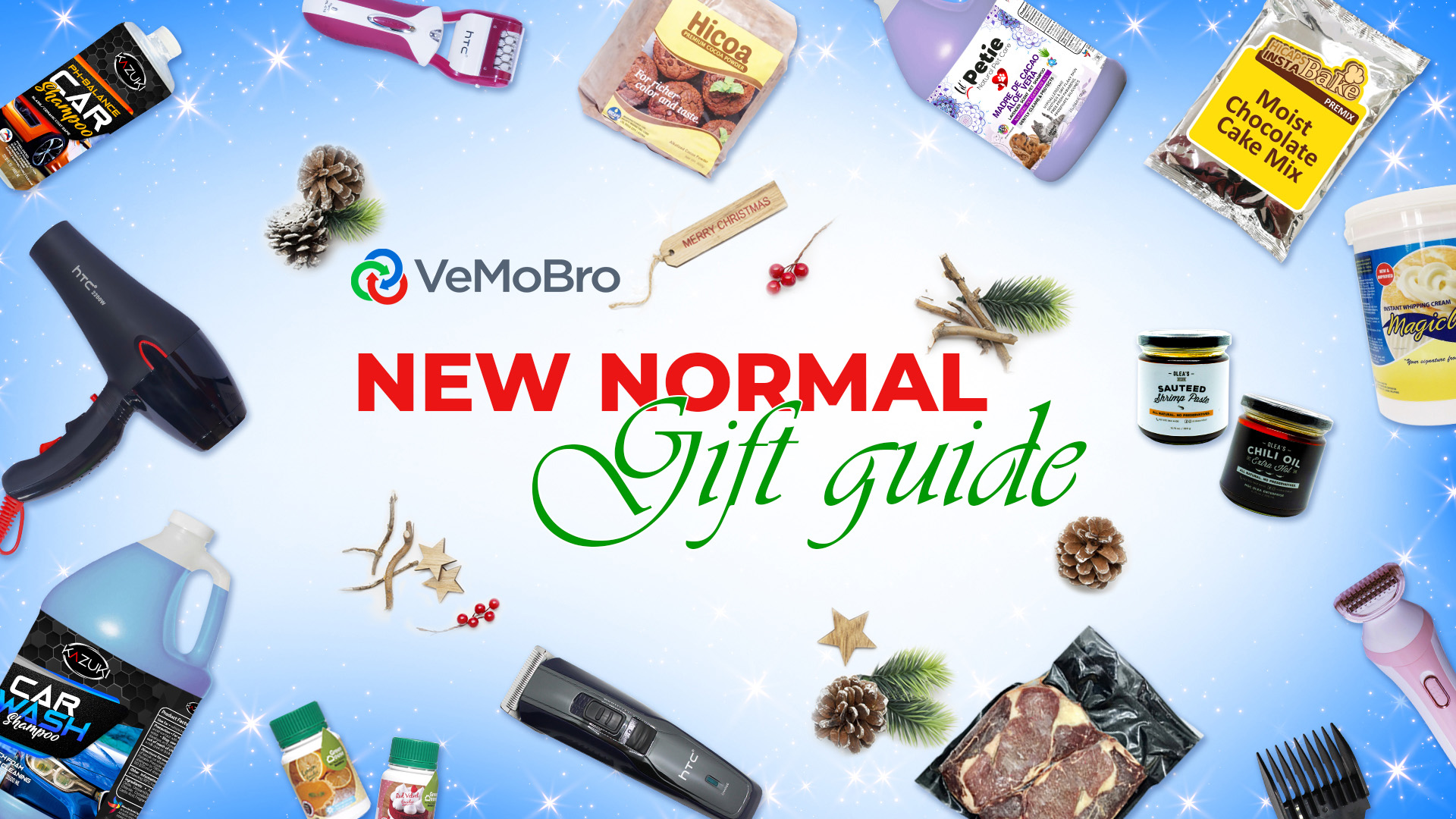 Gift Giving this Christmas is a Go: Here's a Gift Guide for the New Normal