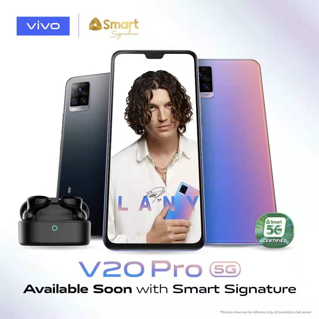 Thinnest 5G smartphone vivo V20 Pro now available with Smart Signature Plan 1999