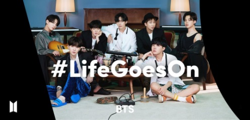 BTS #LifeGoesOn TikTok Challenge Sets a Record of 930M views in 15 days
