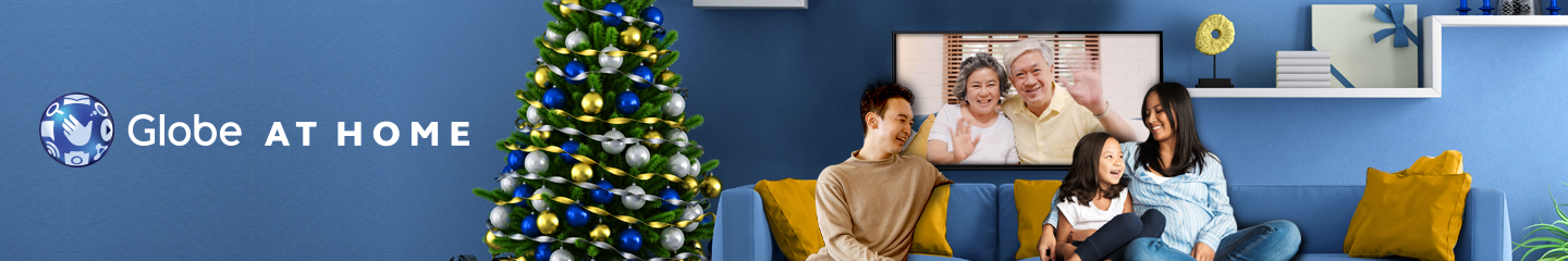 Recreate the holidays right at home best with Globe At Home Unli Plans