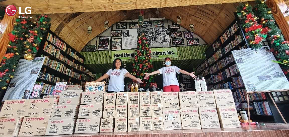 LG PH aids Typhoon Rolly and Ulysses victims