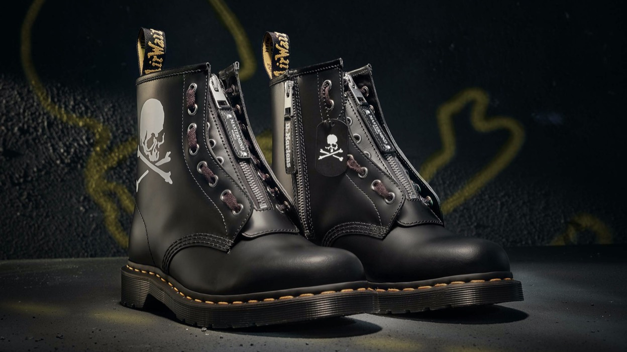 Dr. Martens x Mastermind, sold out!